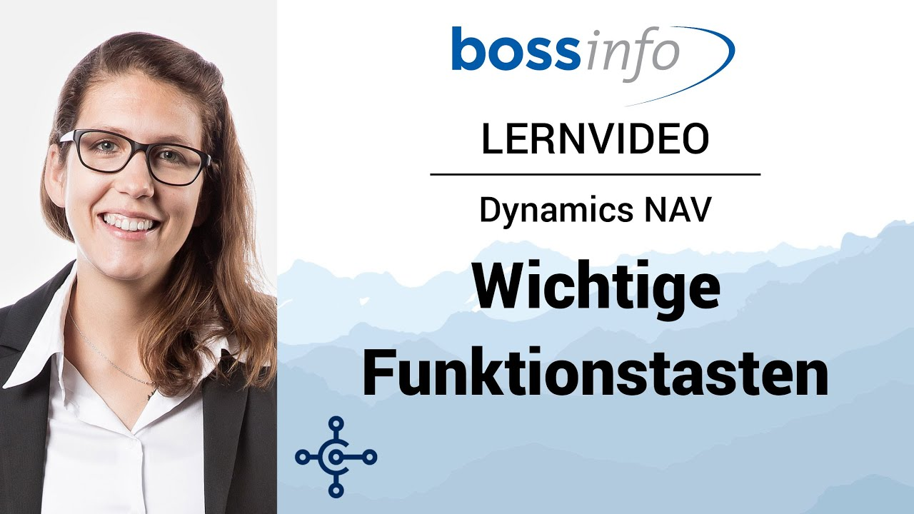 Microsoft Dynamics NAV - Wichtige Funktionstasten
