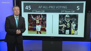 Breaking down why Pat Mahomes will beat Drew Brees for MVP