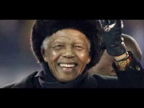 HOMMAGE A NELSON MANDELA  R. I. P.  - MANDELA DAY - SIMPLE MINDS
