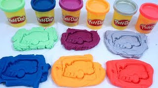 Make Transformer Car Toy Using Play-doh | Educational Video For Children
