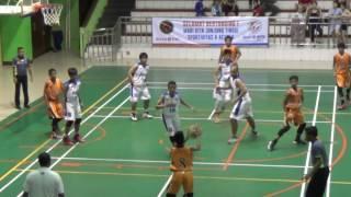 IM KU 14 Putra Final Basketball DKI Jakarta 2016 - Quarter 1 (part 1 of 2)