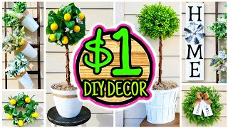 7 Cheap (NOT CHEESY) $1 DIY Porch Decor Ideas