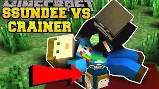 Minecraft: SSUNDEE VS CRAINER CHALLENGE GAMES - Lucky Block Mod - Modded Mini-Game
