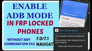SAMSUNG Frp Tools With All ADB Enable File For FRP Reset (( 100