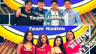 Family Feud Vlog with JaDine featuring MayMay, Donny Pangilinan, Barbie Imperial and more!!