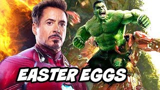 Avengers Endgame Easter Eggs and Scenes Breakdown Part 1