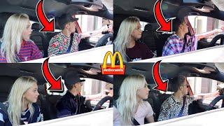 Driving Through The SAME McDonald's Drive Thru w/ DIFFERENT Clothes On...