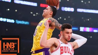 Los Angeles Lakers vs Chicago Bulls 1st Half Highlights | 01/15/2019 NBA Season