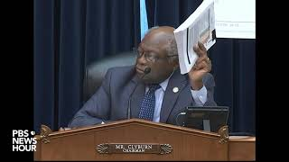 WATCH: Rep. Clyburn asks Dr. Fauci if he agrees with Trump that more testing results in more cases