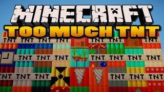 Minecraft: Too Much TNT Mod   35 New TNTs!