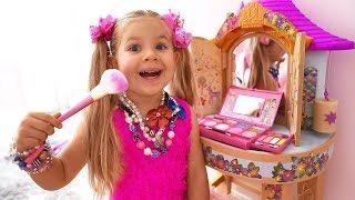 Diana Pretend Play Dress Up & makeup toys