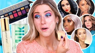 TESTING MAKEUP BEAUTY GURUS MADE ME BUY... Full Day Wear Test