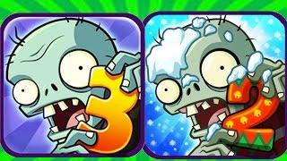 Plants Vs Zombies 2 vs Plants Vs Zombies 3(Fan Made)