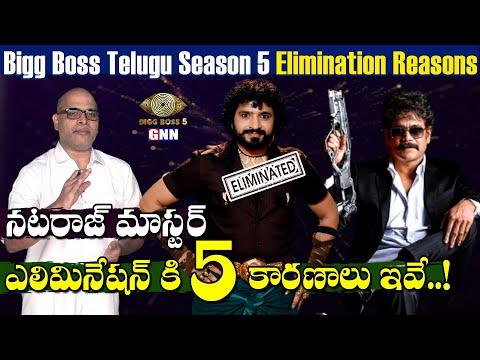 Telugu Bigg Boss 5: Reasons behind Natraj master's elimination from house