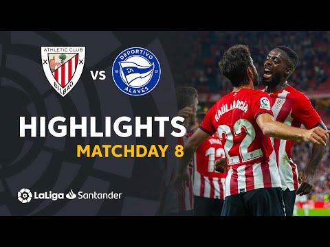 ⚽ HIGHLIGHTS I Athletic Club 1-0 Deportivo Alavés I LaLiga Matchday 8
