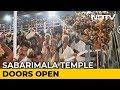 Sabarimala Temple Opens For Pilgrimage, 10 Women Sent Back
