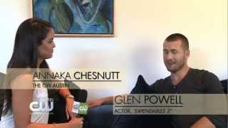 Glen Powell Chats 'What It Takes' To Be An Expendable