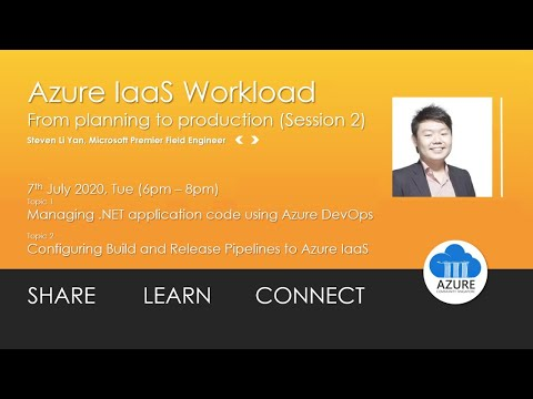 Azure IaaS Workload - From Planning to Production (Session 2)