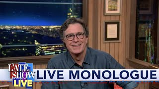 Melania Trump Headlines RNC Night 2 - Stephen Colbert's LIVE Monologue