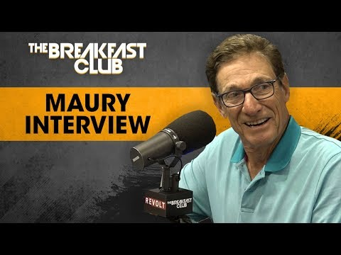 Maury Talks Accuracy Of Lie Detector, Past Relationship w/ Donald Trump + More