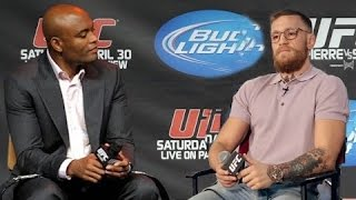 Conor McGregor And Anderson Silva Possible Fight Interview!