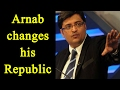 Arnab Goswami changes channels name to Republic TV..