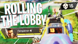 We Rolled the Whole Lobby! - Apex Legends Season 8