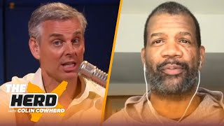 Rob Parker says LeBron doesn't deserve MVP, thinks the 'new' Tom Brady is a farce | THE HERD