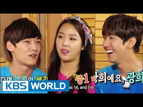 Happy Together - Blood Siblings Special with Kwanghee, Park Kyunglim & more! (2014.09.25)