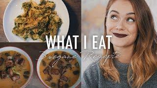 EINFACHE VEGANE REZEPTE - what i eat in a day | SNUKIEFUL