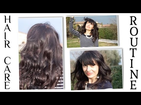 Natural Hair Care ROUTINE: Heatless curls & wooden brush for healthy shiny hair  - Hair Styling Tips