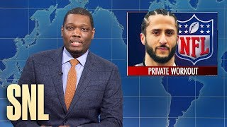 Weekend Update: Colin Kaepernick Works Out, World's Largest Starbucks - SNL