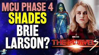 Marvel Shades Brie Larson with Captain Marvel 2 Title: The Marvels + More Phase 4 Titles Revealed!