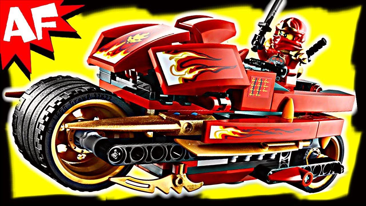 kai's blade cycle 9441 lego ninjago stop motion set review