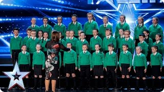 St. Patrick's Junior Choir sing their hearts out   Auditions Week 3   Britain's Got Talent 2017