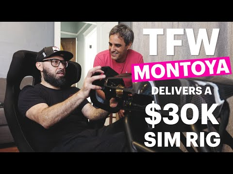 Juan Pablo Montoya became the 'World's Fastest Delivery Driver' as he helped to deliver an Allinsports eRacer gaming rig worth over $30,000 to a lucky prize winner.  See the winners amazing reaction and stay tuned for more action from World's Fastest Gamer.