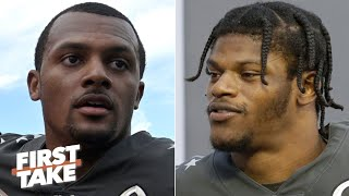 Lamar Jackson or Deshaun Watson: Which QB will challenge Mahomes as the NFL's best? | First Take