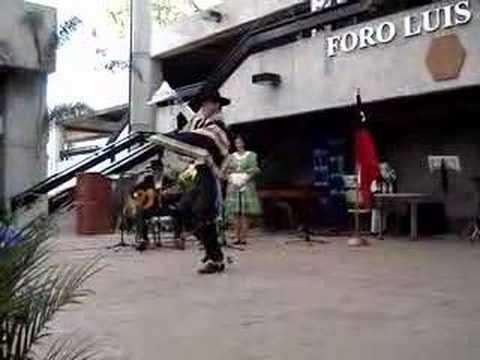 Folklore Chileno en Panamericano 2007 - Zapateo del Huaso
