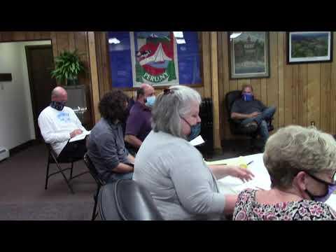 Peru Town Board Meeting  11-9-20
