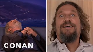 "Jeff Bridges' Insane ""Big Lebowski"" Story  - CONAN on TBS"