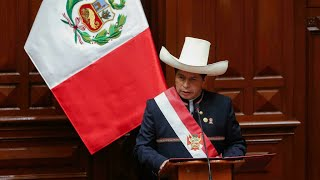 Peru's Castillo assumes presidency, vows to bridge social divide • FRANCE 24 English