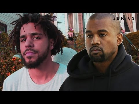 "J. Cole Takes Shots At Kanye West On ""False Prophets"" 