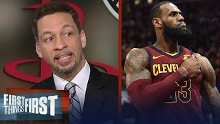 Chris Broussard on LeBron James joining Gregg Popovich and Kawhi on the Spurs | FIRST THINGS FIRST