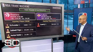 NBA trade machine: Kyle Lowry trade scenarios to the Lakers and Heat | SportsCenter