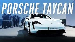 Porsche Taycan first look