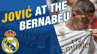 LIVE | Luka Jović takes to the Bernabéu pitch!