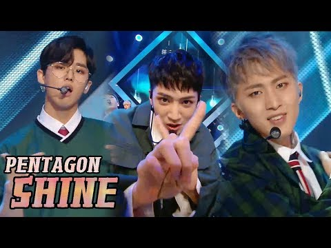 [Comeback Stage] PENTAGON - Shine, 펜타곤 - 빛나리 Show Music core 20180407