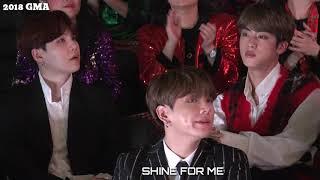 "2018 MGA BTS(Suga,Jin,Jk) reaction to Twice ""Yes or Yes"""
