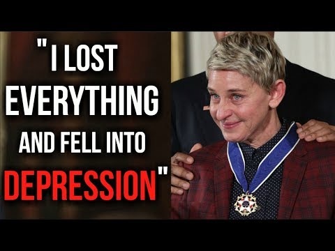 The Motivational Success Story Of Ellen Degeneres - How She Beat Depression And Never Gave Up