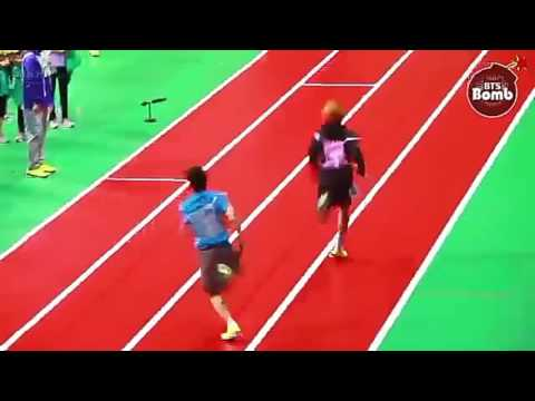 BTS Winning On Relay Race @ ISAC (Compilation)